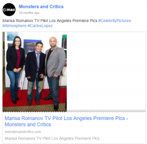 Our Founder's new series Pilot sneak preview featured in Monsters & Critics