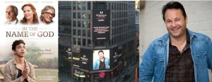 MS Coordinates feature story on TV Host/Author Pete Freeland on the Reuters Time Square Megatron