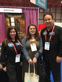 MS Execs launch of Authors & Astronauts Photo Ops at BEA15 was a huge success with fans at the top literary expo.