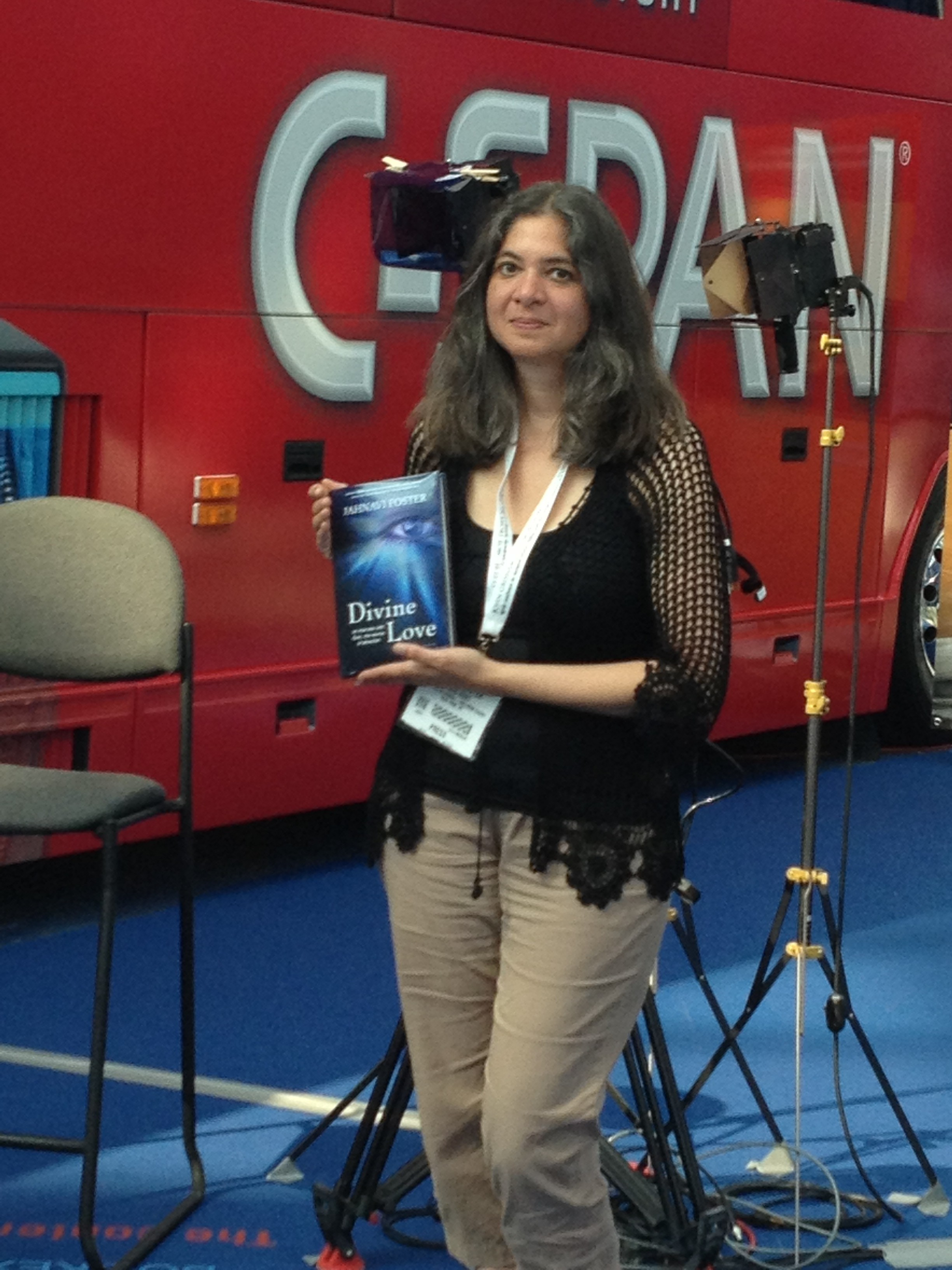 MS Founder coordinated the CSPAN BookTV PhotoOp at BEA 2013