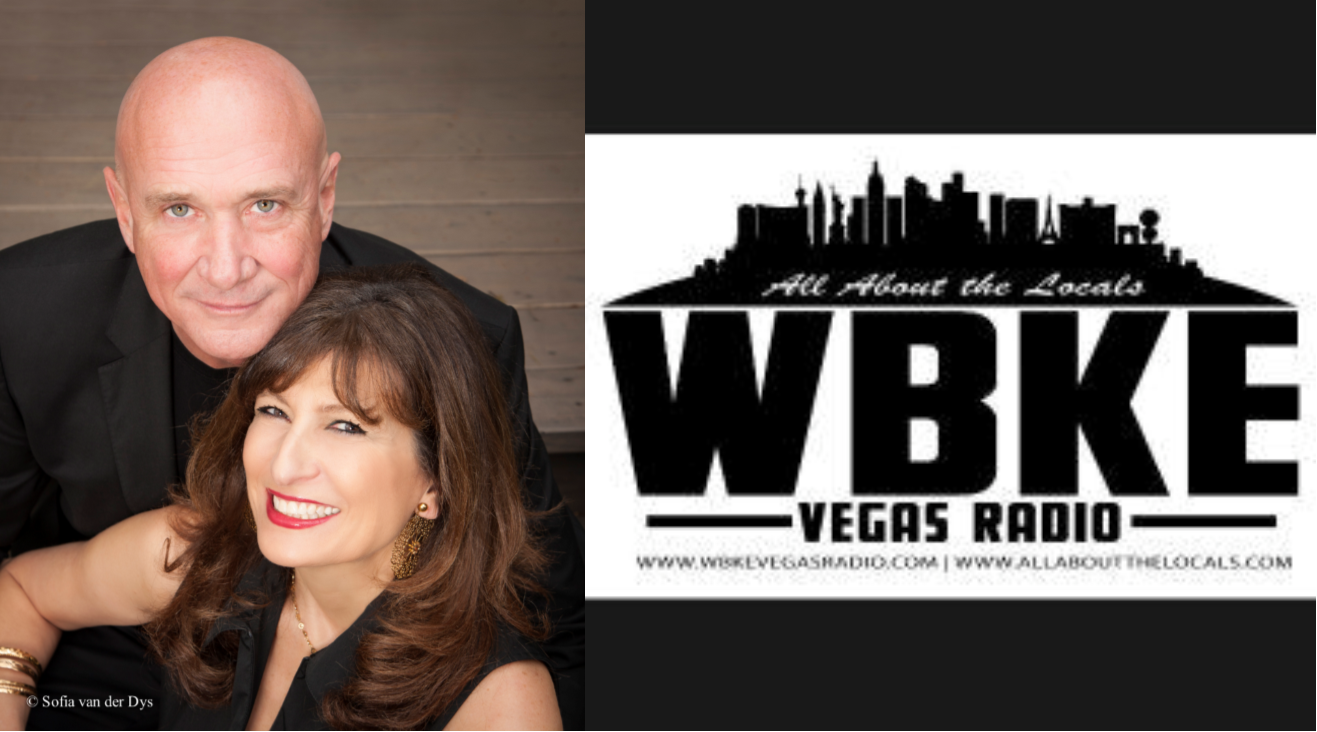 Authors Sharon Abercia & John Evans on WBKE Vegas Radio