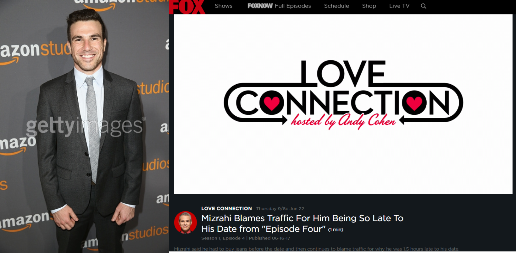 Watch the sneak peek at Andy Mizrahi on Love Connection with Andy Cohen...